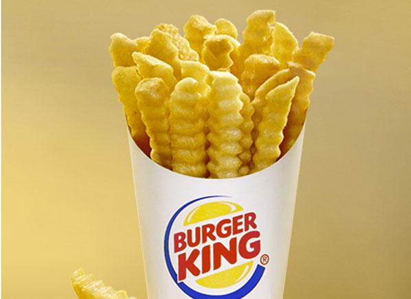 Crinkle Fries Fast Food