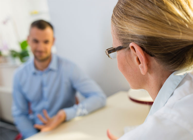 doctor patient relationship issues for men