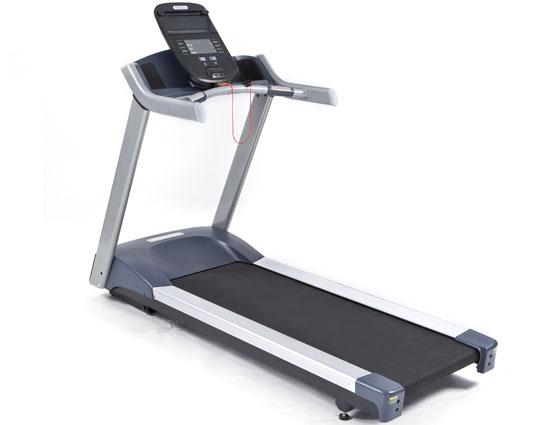 A non-folding treadmill