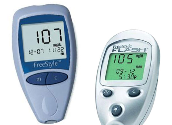 Abbott Freestyle Amp Freestyle Flash Blood Glucose Meters