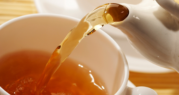 Hot tea is just one of several healthy drinks you should be drinking this season.