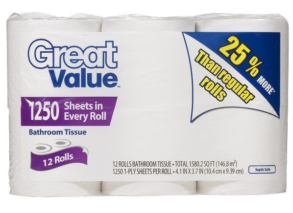 Walmart S Best And Worst Toilet Paper Toilet Paper Tests