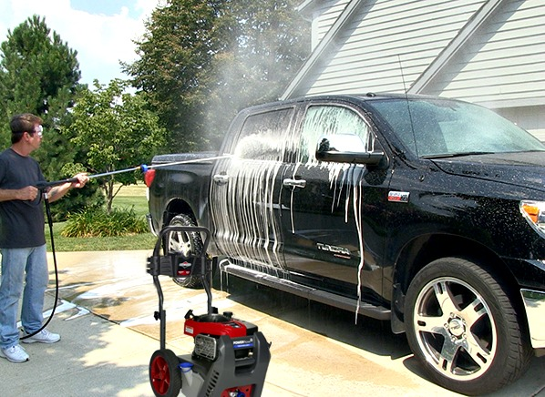 what to look for in a pressure washer consumer reports. Black Bedroom Furniture Sets. Home Design Ideas
