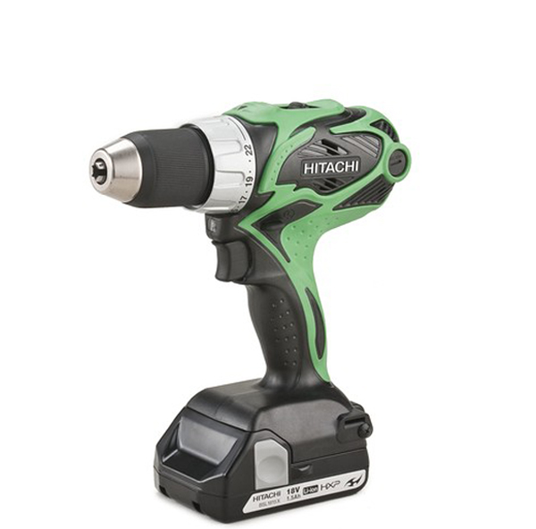 Photo of a cordless drill.