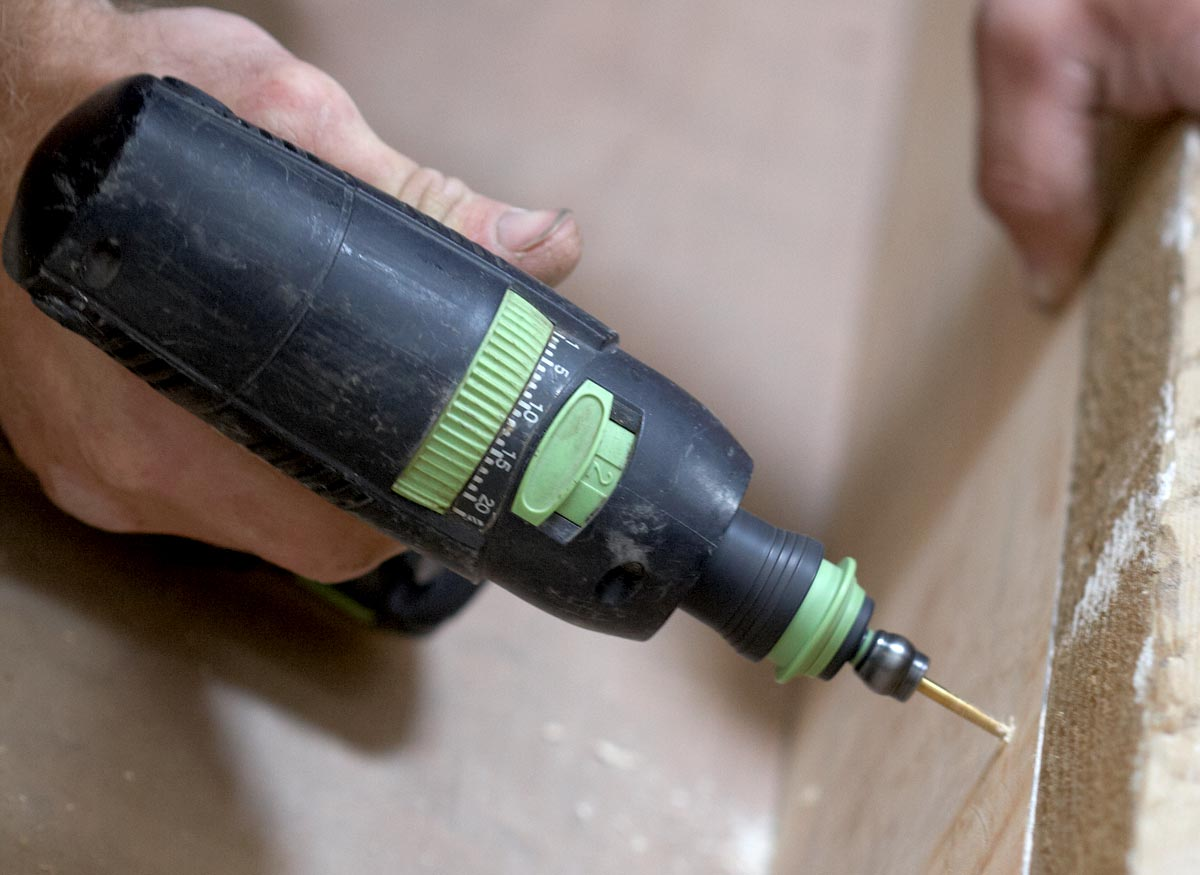 A drill with multiple speed settings.
