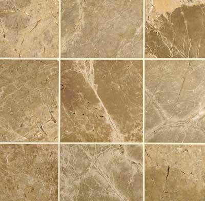 Photo of a tile countertop.