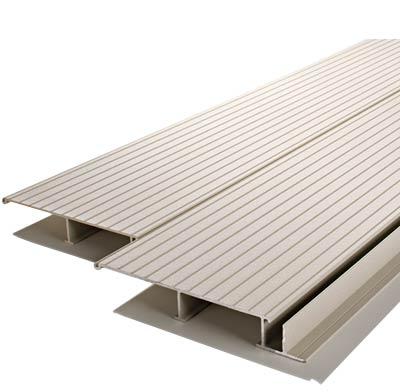 Photo of aluminum decking.
