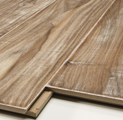 Picture of laminate flooring.