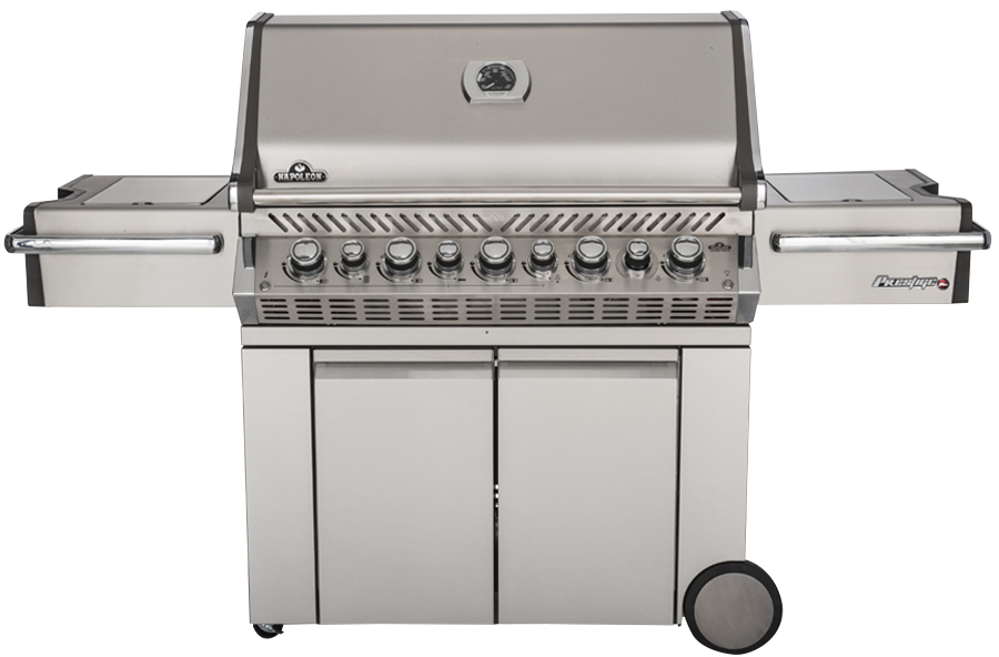 Picture of a large gas grill.