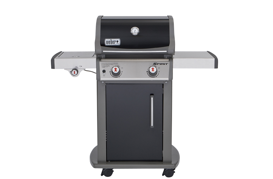 Picture of a small gas grill.