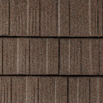 Photo of metal roofing.