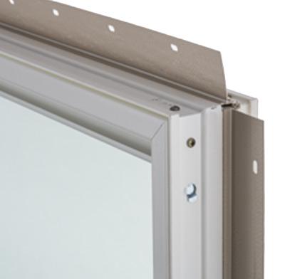 Photo of a fiberglass window frame.