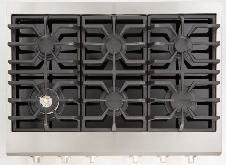The Kenmore Pro 34913 Cooktop is one of slide-in and built-in appliances that give kitchens a sleek look