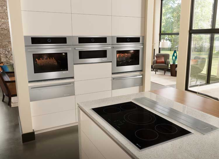 Cooking tips include using induction cooktops.