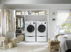 ... Or House Plan, Can Accommodate A Second Floor Laundry. Space Planning  Issues, Particularly In An Existing Home, Are Best Addressed By An  Architect, ...