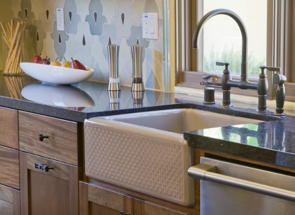 Kitchen sink types sink material reviews consumer for Types of kitchen sink materials
