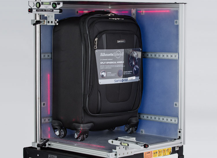 Testers at Consumer Reports accurately measured carry-on luggage.