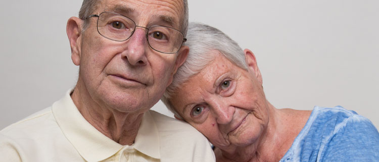 Phillip Deeb and his wife, Mary Jane, who were cheated of their life savings