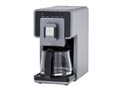 Electric French-press coffeemakers
