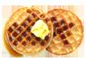 Frozen waffles image