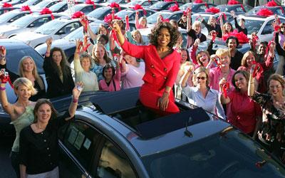 Oprah-Show-Pontiac-G6-give-away