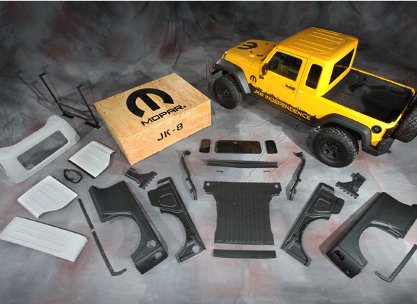 jeep prices wrangler unlimited pickup truck kit 5 499. Black Bedroom Furniture Sets. Home Design Ideas