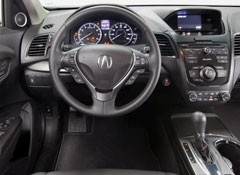 2012 Acura  on The Neatly Trimmed Interior Is Roomy And Welcoming  Though Not As