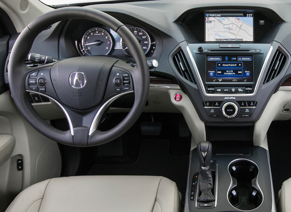 first drive 2014 acura mdx boasts improvements yet feels unremarkable. Black Bedroom Furniture Sets. Home Design Ideas
