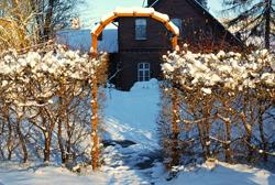 Snowy Path Deicer Snow Melt