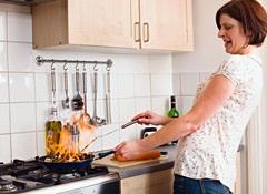 6 اشياء فى مطبخ الزوجة العربية مصدر الخطر فى المطبخ